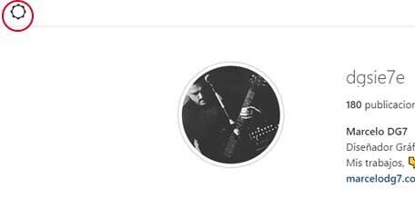 Usar Instagram desde una pc
